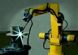 Robotic welding machine OJ10, IGM, Strojtex
