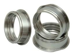 CNC soustružení a frézování, ukázka CNC výrobků - ložiskové kroužky, Strojtex