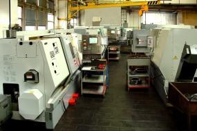 CNC HAAS soustruhy 1, CNC soustružení a frézování, Strojtex