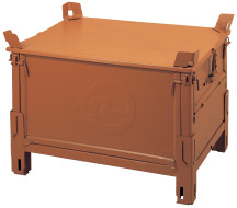 Robotické svařování, paleta skříňová, Strojtex