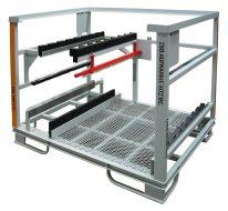 Automatické svařování, sériová výroba palet, Strojtex
