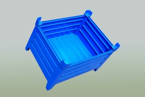 Development and Manufacture, mesh pallets model, Strojtex
